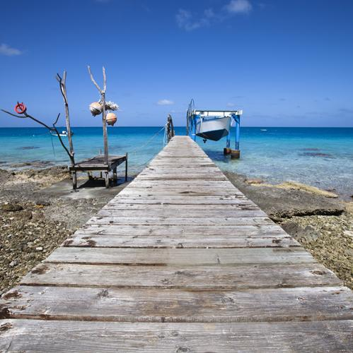 zeilvakantie caribbean guadeloupe vissersboot