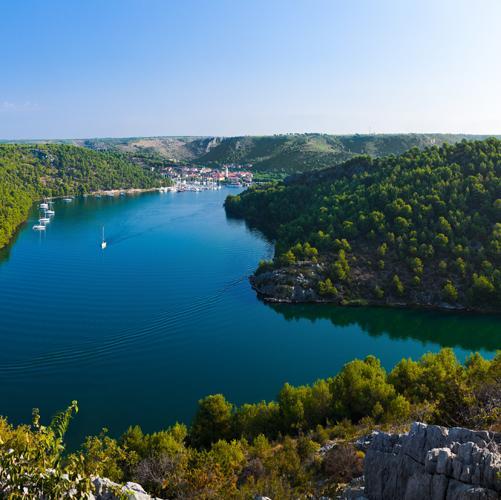 zeilvakantie kroatie krka brug (2)